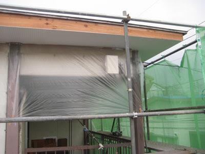 東京都 府中市 屋根工事 雨漏り修理 軒天 破風 施工後