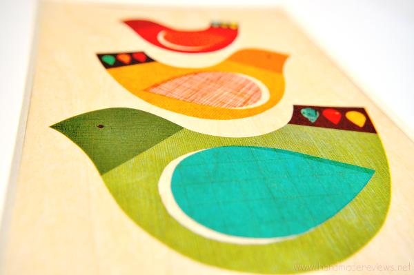 Bird Print Wall Art Decor