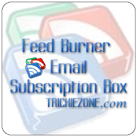 Simple Feed Burner Email Subscription Box Below Blogger Post