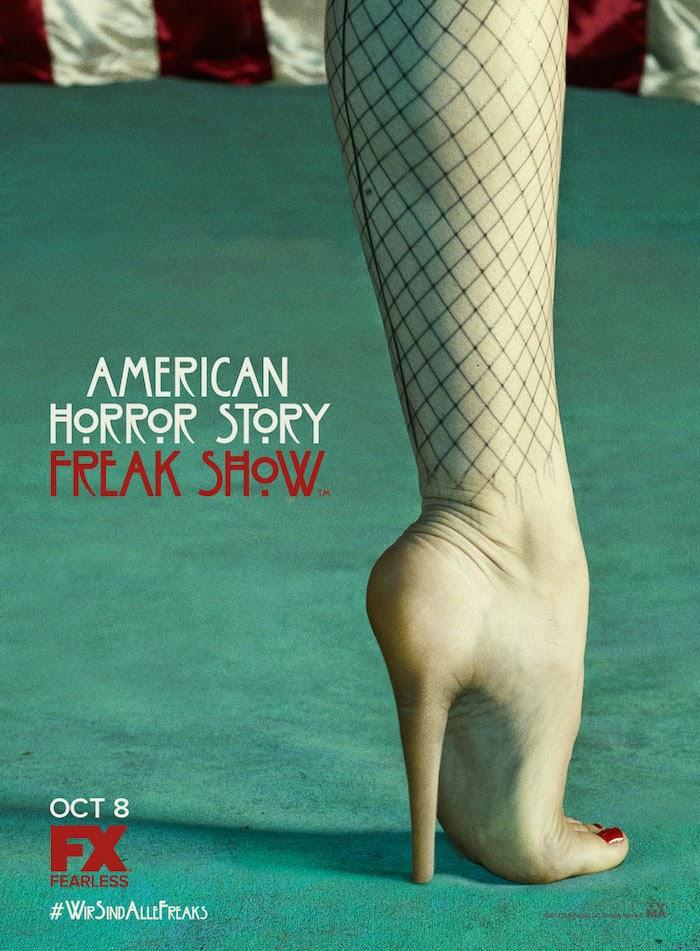 Otro nuevo póster oficial de 'American Horror Story: Freak Show'