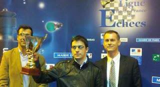 Maxime Vachier-Lagrave champion de France 2013 de Blitz - Photo © Ligue IDF des échecs