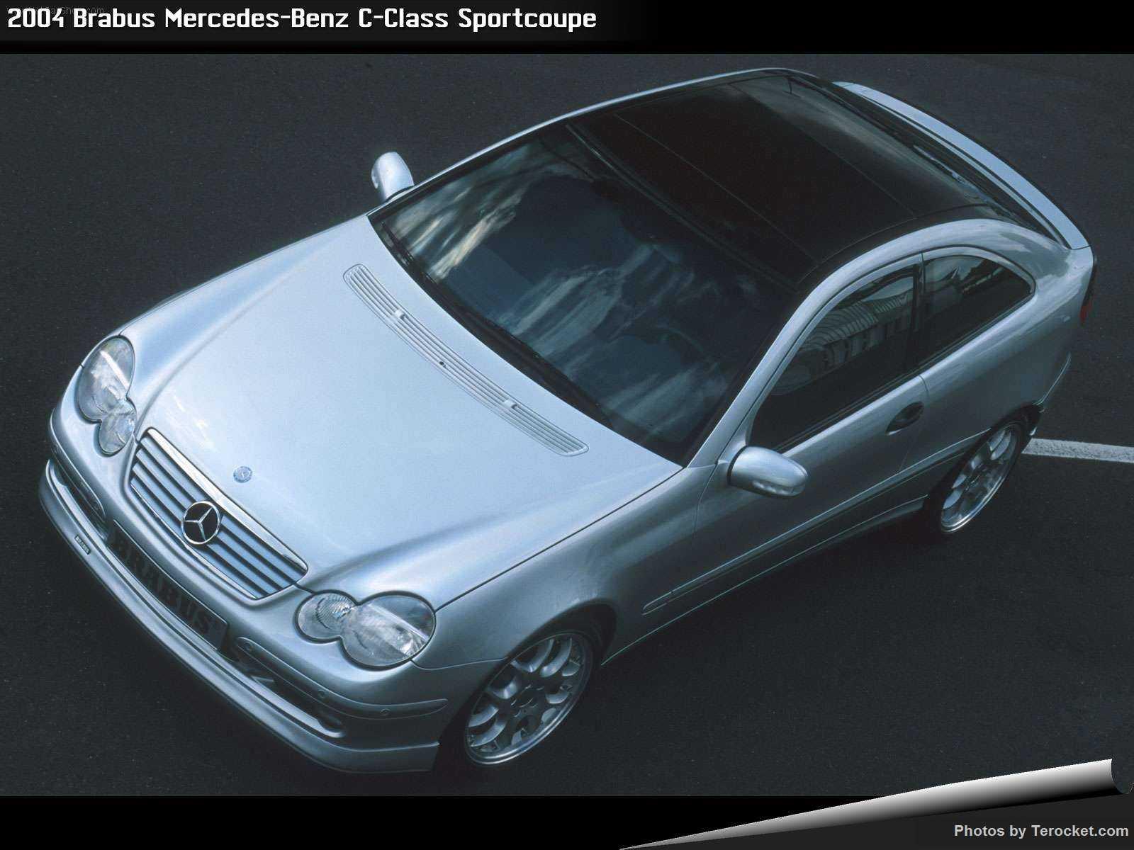 Hình ảnh xe ô tô Brabus Mercedes-Benz C-Class Sportcoupe 2004 & nội ngoại thất