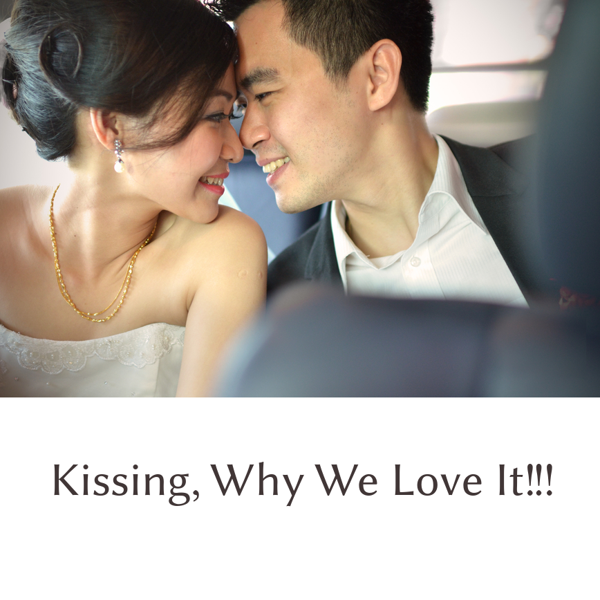 why we love kissing