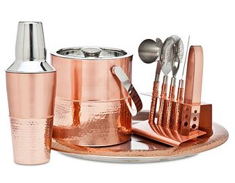 modern bar tools server cocktail shaker ice bucket cocktail tools interior design holiday gift ideas