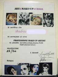 ATTESTATO DI MAKE-UP ARTIST