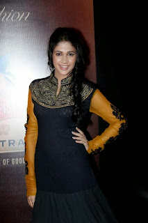 Lavanya Tripathi Latest Pictures in Stylish Dress at Kingfisher Ultra HIFW 2013