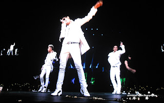 big bang k pop galaxy tour at prudential center. taeyang, g dragon, top, daesung, and senguri