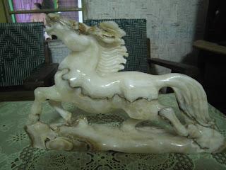 Patung Kuda  Marmer dan Onix
