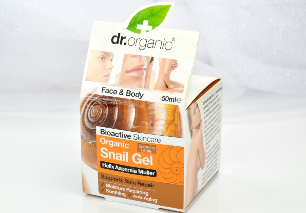 dr organic snail gel review