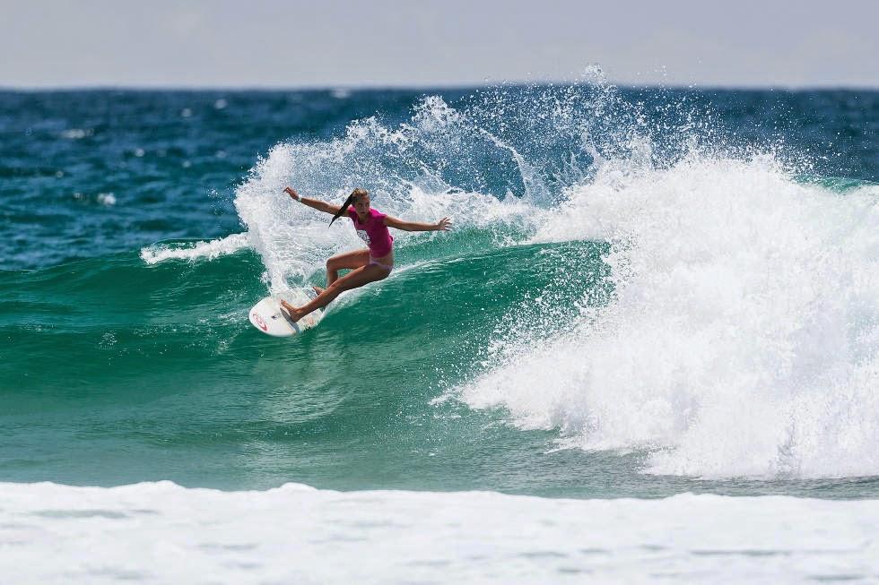 61 Roxy Pro Gold Coast 2015 Kobie Enright Foto WSL Kelly Cestari