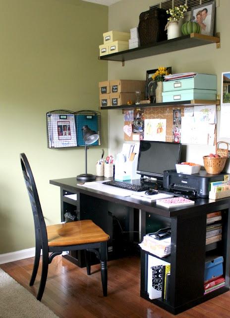 Fall Dining room/Office