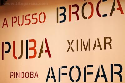 Nossos Falares, no Museu da Gente Sergipana, em Aracaju - Sergipe