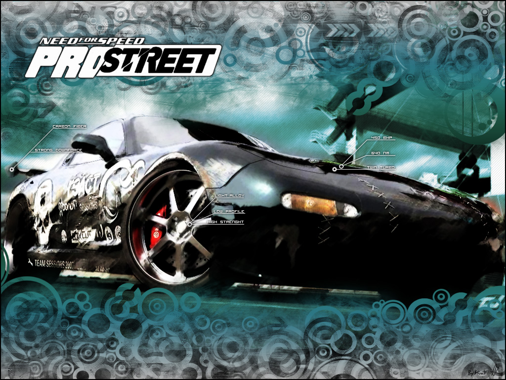 Need For Speed: Pro Street (2007) | Genre : Racing | Size : 4.8Gb