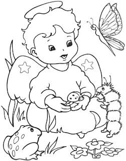 dibujos para colorear de navidad