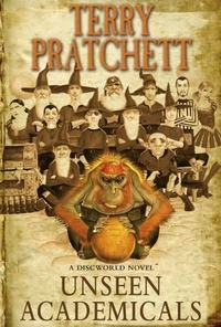 "Cover of ""Unseen Academicals"", a novel by Terry Pratchett"