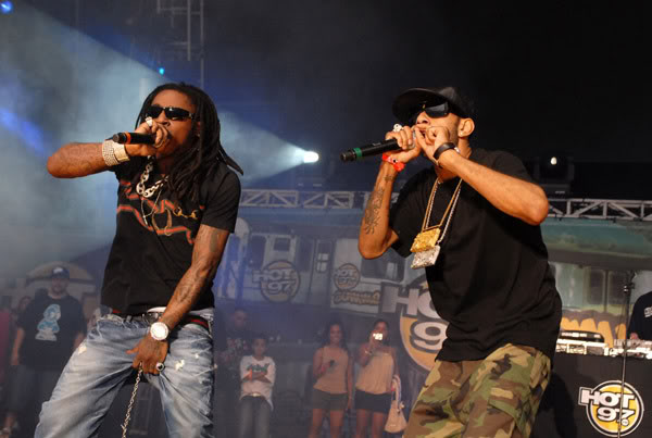 Foto do Lil Wayne & Swizz Beatz