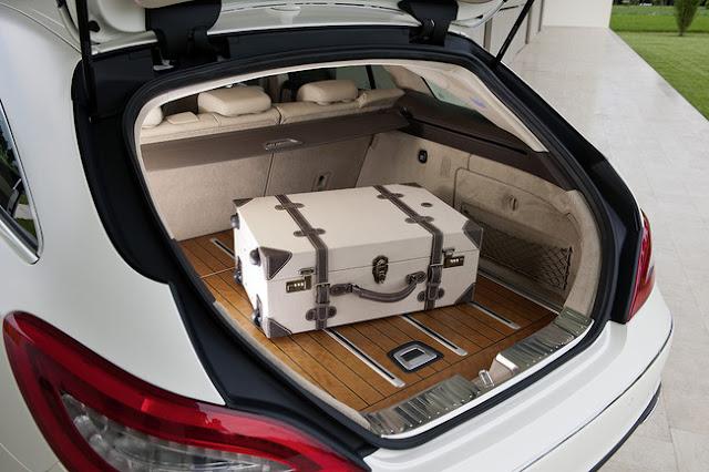 багажный отсек Mercedes CLS Shooting Brake