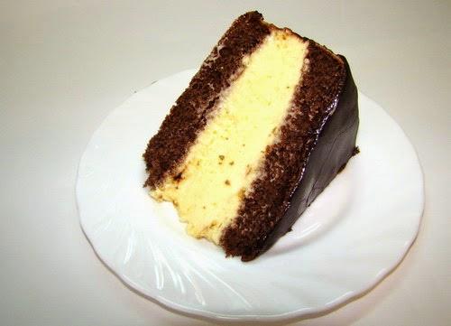Птичье молоко с лимоном торт