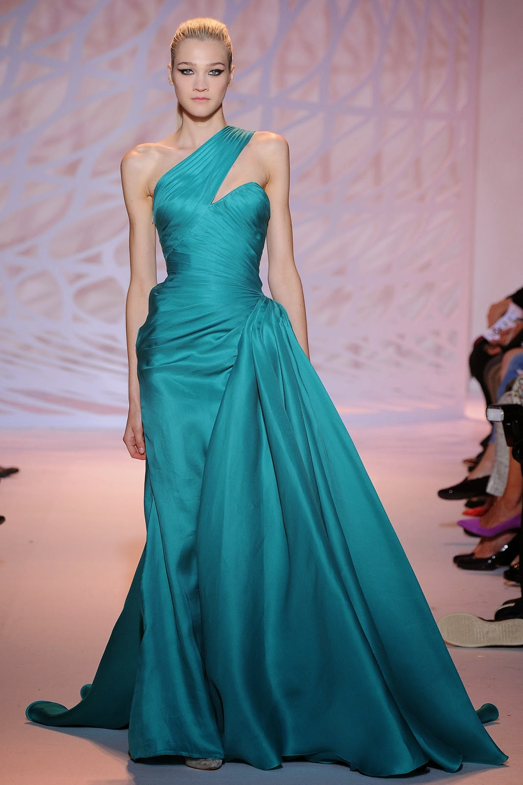 SASHES AND TIARAS.....Miss Lebanon 2014 Pageant: Gowns from Zuhair ...