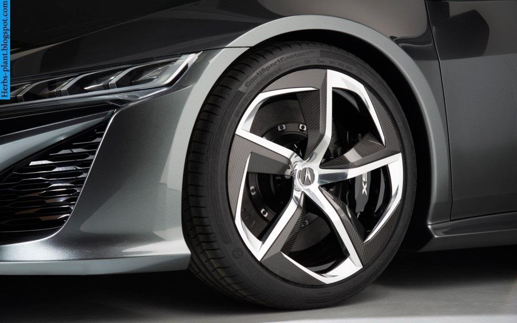 Acura nsx car 2013 tyres/wheels - صور اطارات سيارة اكورا ان اس اكس 2013
