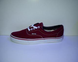 Sepatu Vans Era Import  maroon,