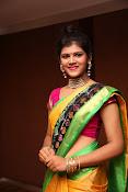 Sangeetha Kamath dazzling saree photos-thumbnail-20