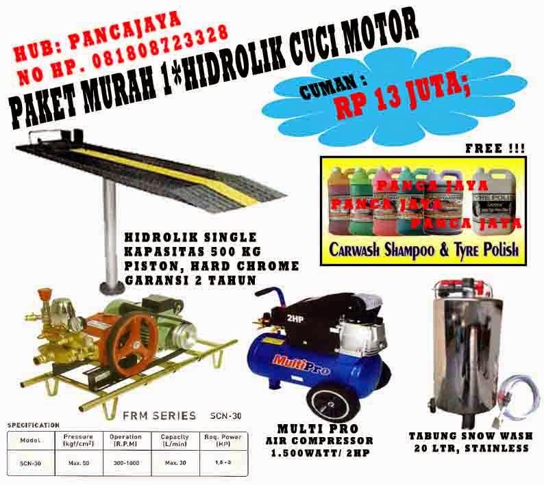 PAKETAN CUCI MOTOR 1 HIDROLIK