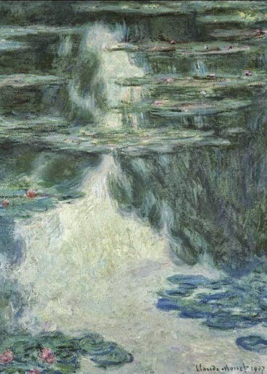 Claude Monet Nymphéas, temps gris. 1907 Cristie's. 2006