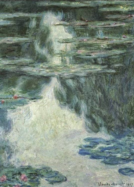 Клод Моне Водяные лилии. Пасмурно. 1907