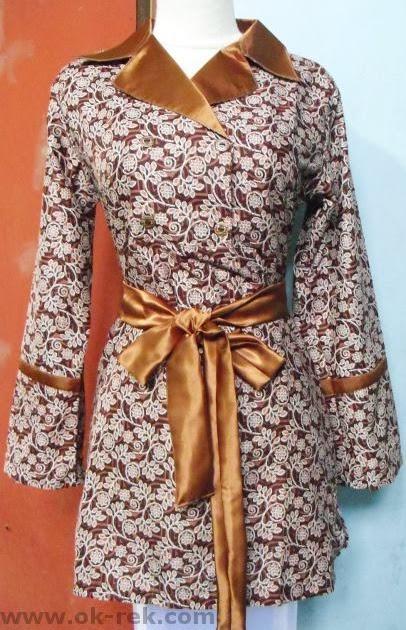 ... Desain dan Produksi Mode dan Busana   Batik Busana Muslimah Terbaru