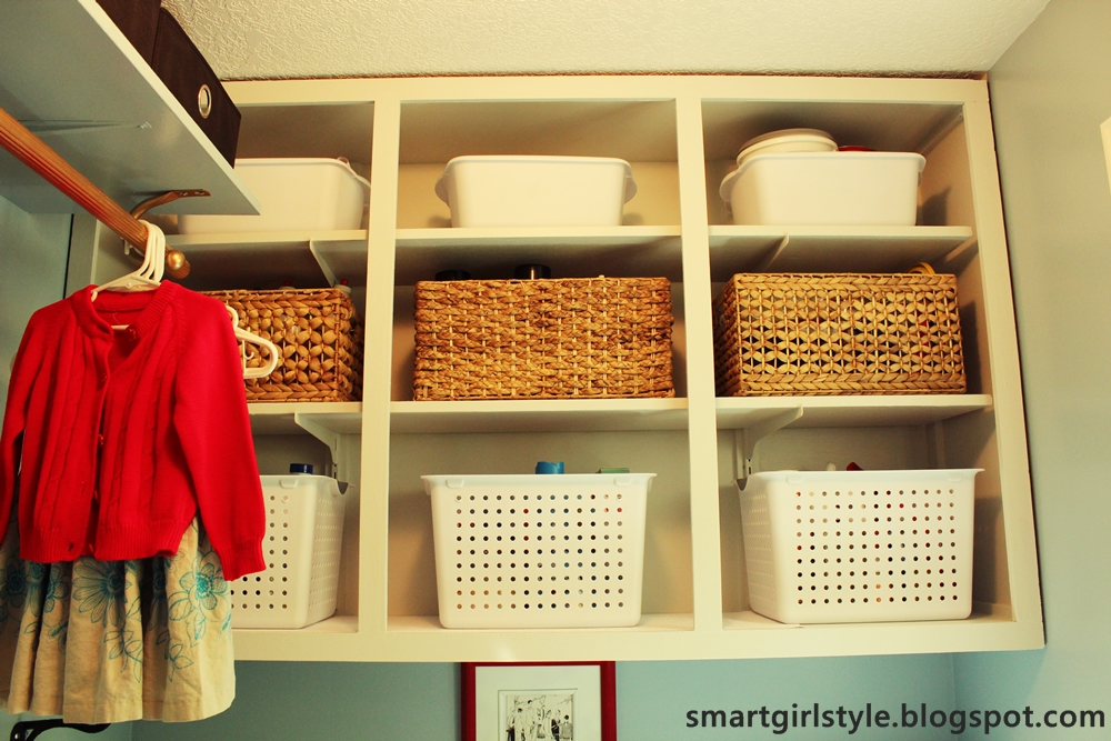 smartgirlstyle: Laundry Room Makeover: Reveal