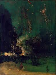 Nocturno de James Whistler. 1834-1903
