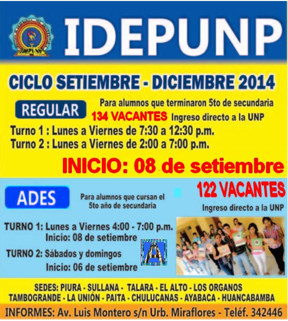 Nuevo ciclo IDEPUNP