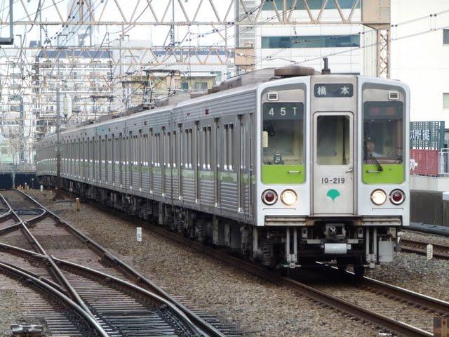 京王電鉄 快速 橋本行き6 都営10-000形190F 210F