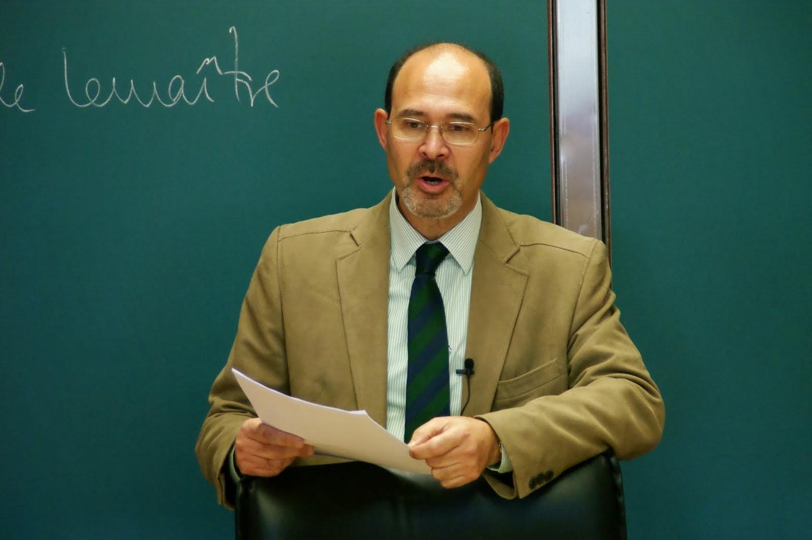 Entrevista en la Universidad de Navarra