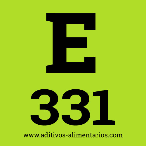 E331 - Citratos de Sodio