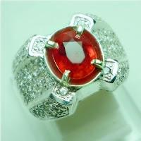 lp519 batu permata natural orange sapphire biasa disebut batu permata