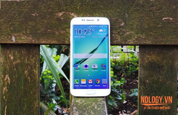 Hướng dẫn đọc tin tức trên màn hình cong Galaxy S6 Edge Docomo