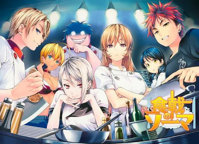 Anime 'Shokugeki no Souma' Akan Umumkan Pengumuman Penting