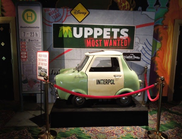 Muppets Most Wanted Interpol Le Maximum car