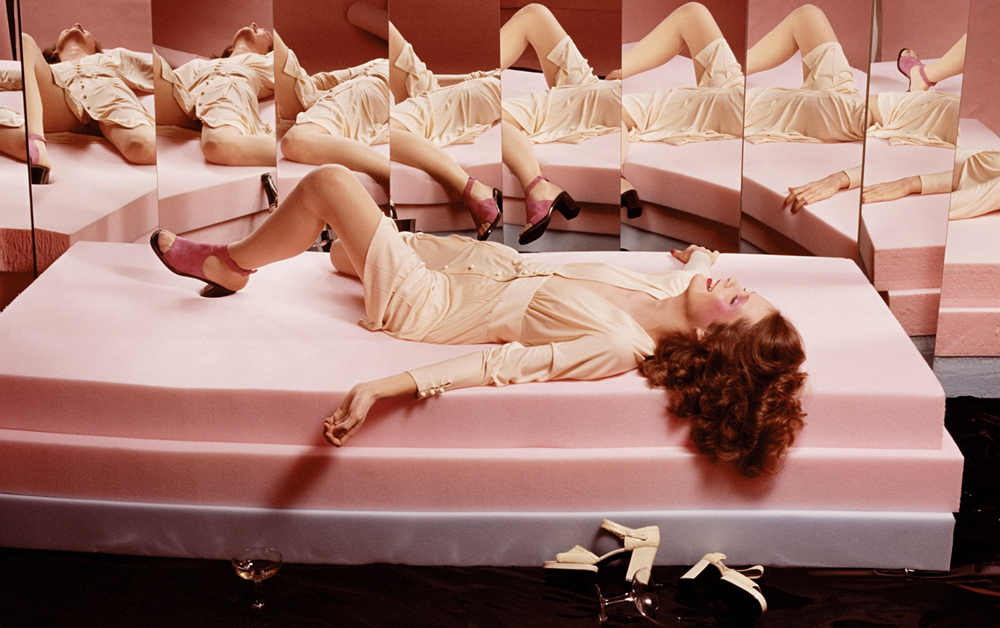 Guy Bourdin for Charles Jourdan / Vogue Paris March 1972 / editorials and campaigns with similar themes / fashioned by love british fashion blog