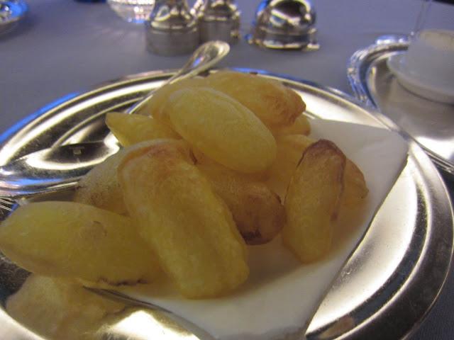 كيفية عمل البطاطس المنفوخة