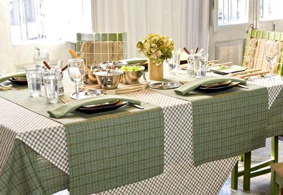 Quedamos en el blog vestimos la mesa - Mantel plastificado ikea ...