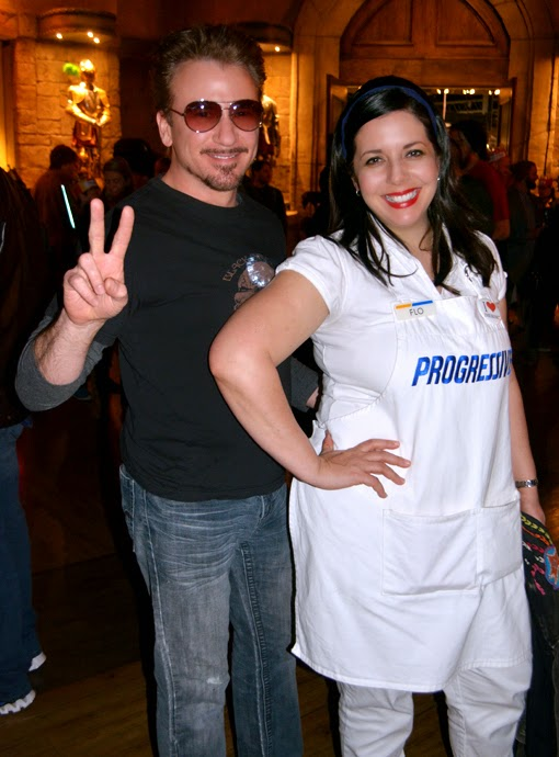 Dragon Con Night at Medieval Times 2015, Tony Stark & Flo