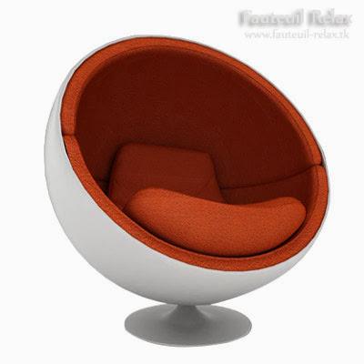 Fauteuil egg ballon fauteuil relax - Fauteuil ballon de foot ...