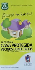 CASA PROTEGIDA VECINOS CONECTADOS