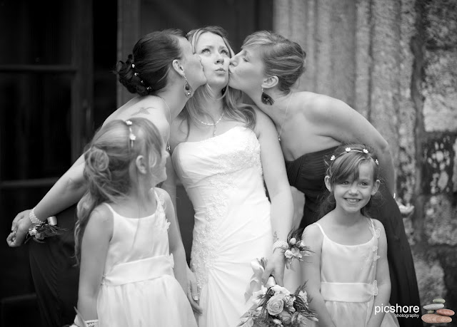 St Andrews church Whitchurch devon wedding Picshore Photography