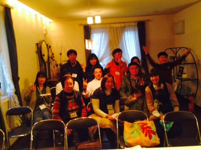 近代ホームグループ 新春交流会の様子