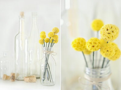 Yellow archives soap deli news you can create them yourself with a handful of dried flower balls from the craft store mightylinksfo