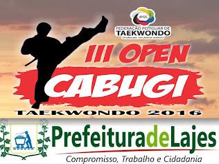 III OPEN CABUGI DE TAEKWONDO